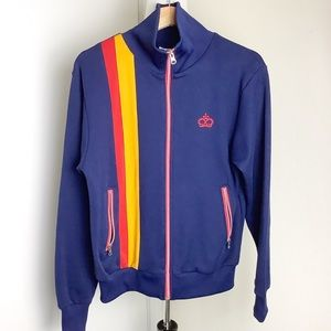 Ace Brand Retro Full Zip Track Jacket Small
